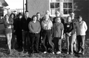 Class photo from the Humanities 101 program, April 2008. Photo submitted by Dr. Margo Butler.