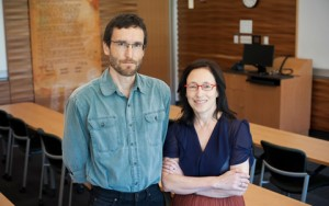 Professors Gordon Christie (left) and Darlene Johnston (right) will be teaching the new Aboriginal Rights and Treaties in Canada course this fall.