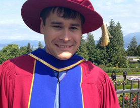 Aboriginal PhD student Dustin King receives Governor General's Gold Medal