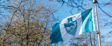 Musqueam flag raised at UBC