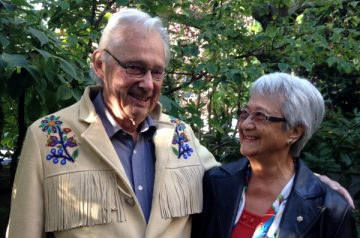 """Verna Kirkness: """"Tom was both my friend and mentor."""" Photo provided by Verna Kirkness"""